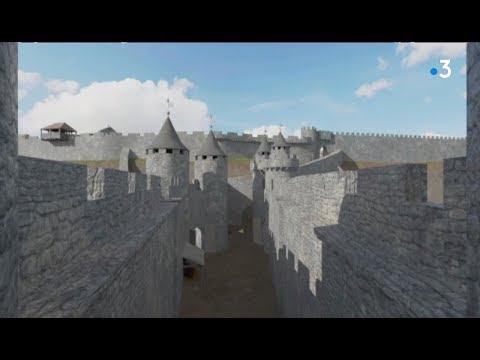 Cantal : le château disparu de Carlat se visite à nouveau en réalité virtuelle - - France 3 Auvergne-Rhône-Alpes