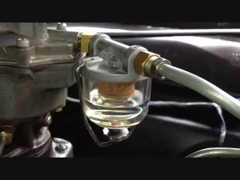 durex glass bowl filter fuel flow chevrolet trucks ac glass fuel housing