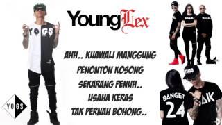 Young Lex   Kaca  Official Video Lyric  PlanetLagu com