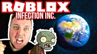ININFECT THE WORLD AND TAKE IT OVER! 👺 🗺:: Infection Inc.-Dansk Roblox
