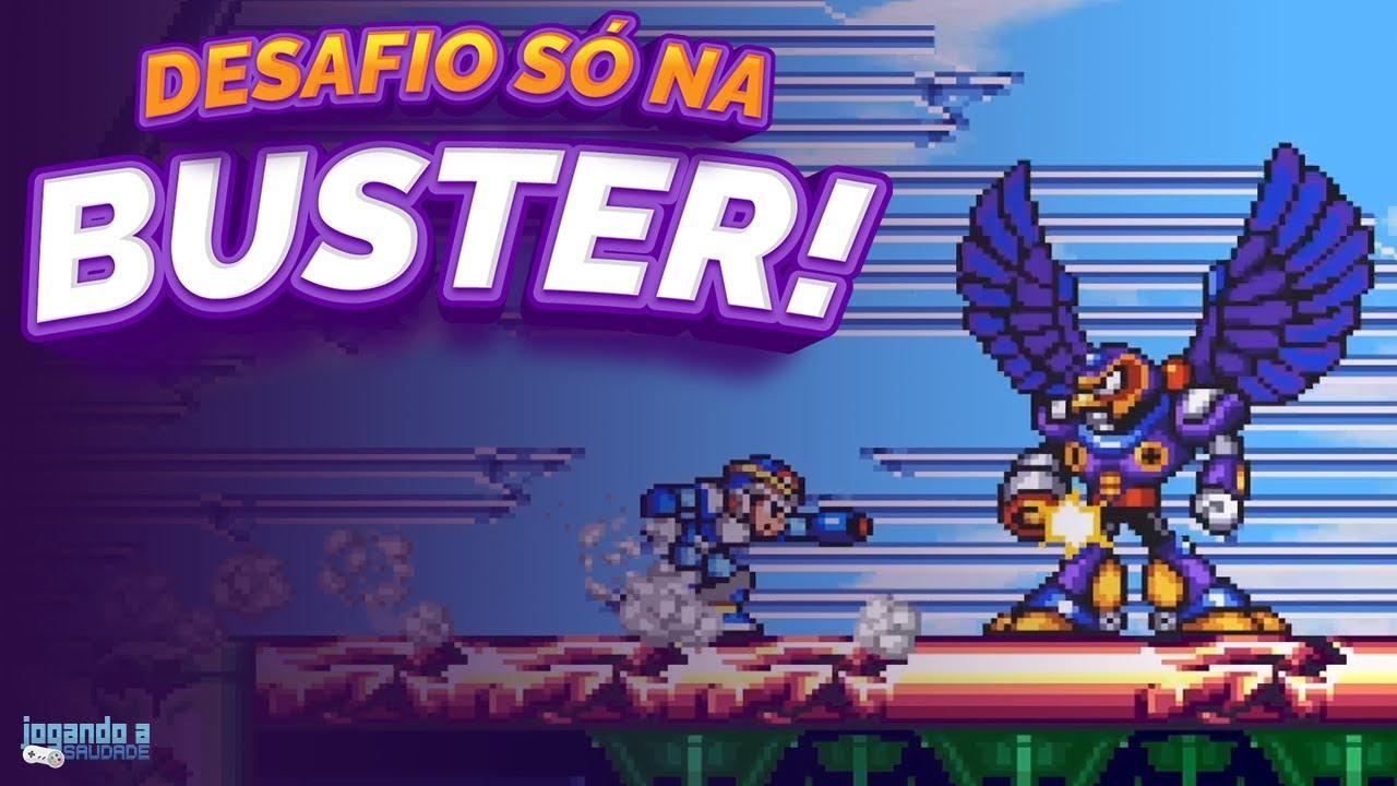 Desafio SÓ NA BUSTER! - Megaman X   Parte 02
