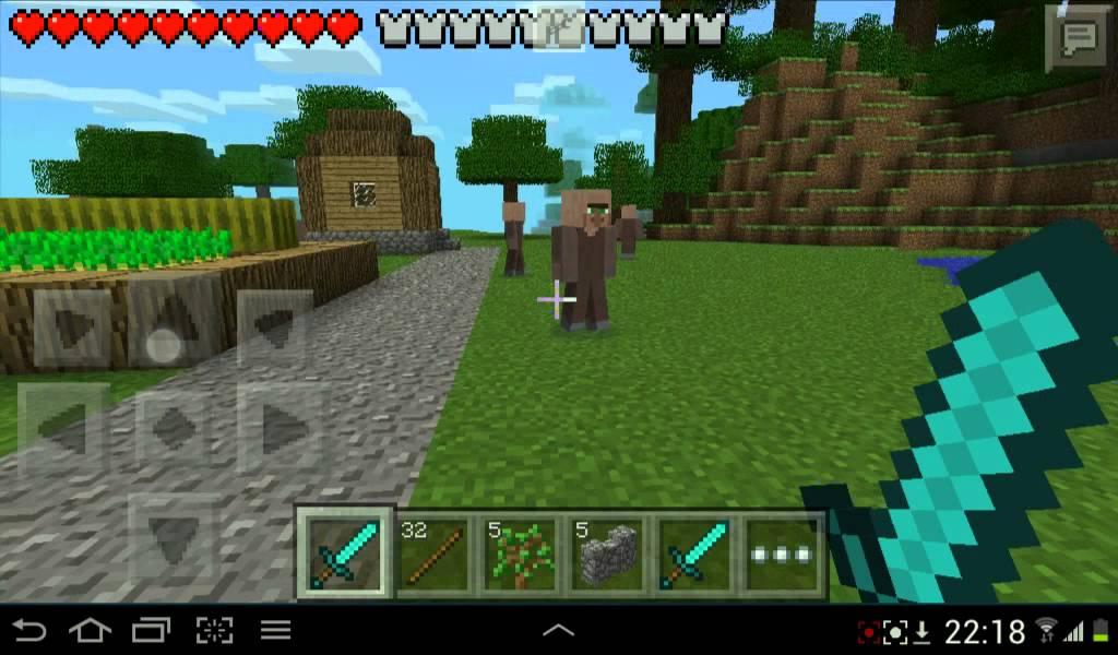 Mob Aldeanos En Minecraft Pe 0 8 0 Youtube