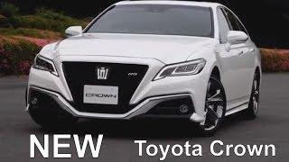 2019 Toyota Crown | NEW flagship premium sedan