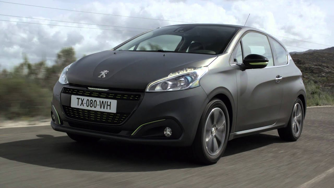 der neue peugeot 208 in ice silver youtube. Black Bedroom Furniture Sets. Home Design Ideas