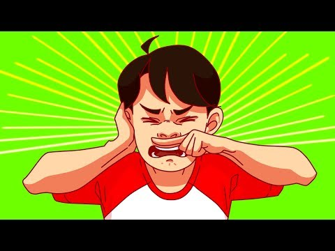 У ребенка при чихании болит ухо