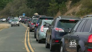 Locals Headed To Stinson Beach Pack North Bay Highways