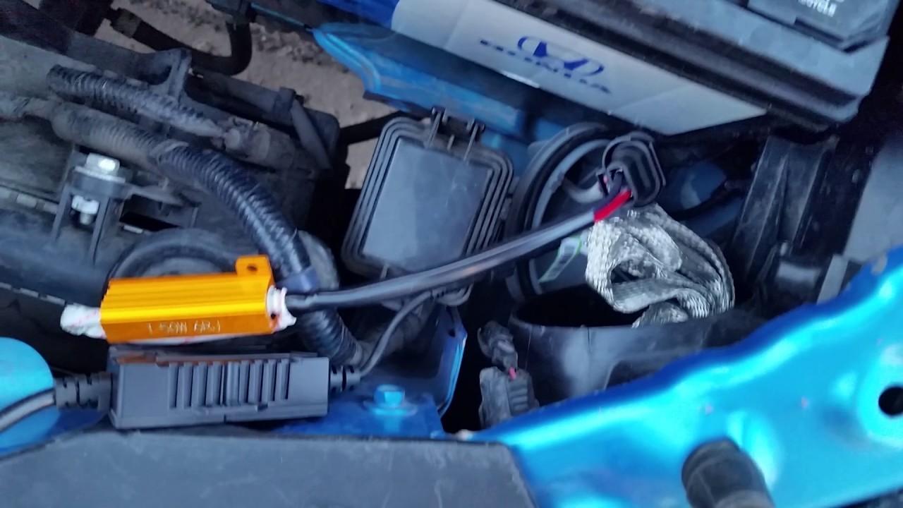 No flicker or DRL warning after LED headlight install 2010 Honda ...