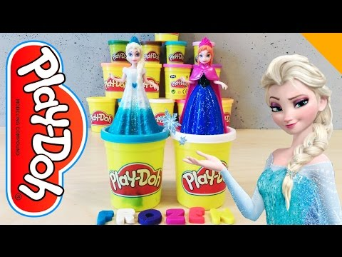 Learning Letters In English With Anna And Elsa Of Frozen