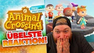 ÜBELSTE Animal Crossing New Horizons REAKTION!