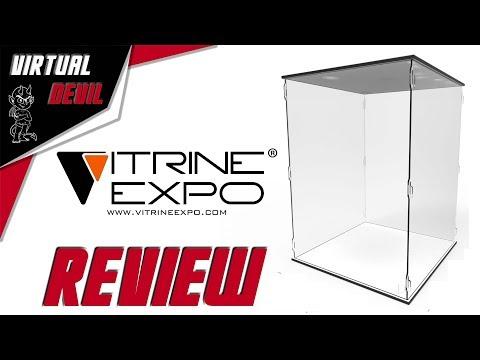 VITRINE EXPO - PRESENTATION DE LA GAMME DE VITRINE ORION !!!