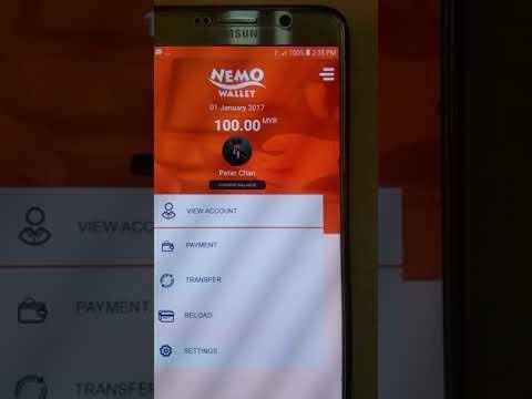 Nemo wallet demo