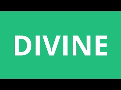 How To Pronounce Divine - Pronunciation Academy