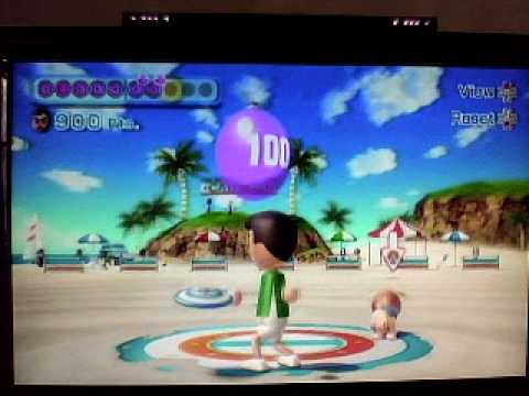 how to get frisbee golf on wii sports resort