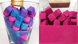 Very Satisfying and Relaxing Compilation 159 Kinetic Sand ASMR