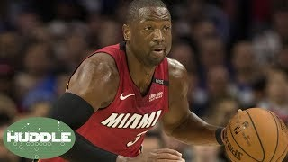 Dwyane Wade's INSANE Performance Was Inspired by Kevin Hart And Allen Iverson! | Huddle