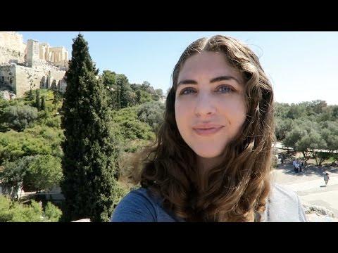 I Got to Greece!