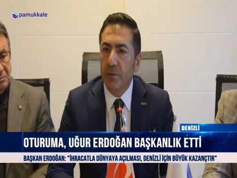 Pamukkale Oda ve Borsalar, Acıpayam'da Toplandı 25 10 2018