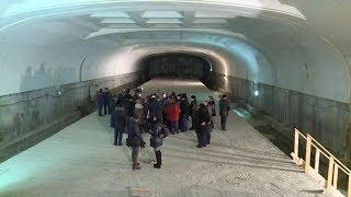 Александр Бурков спустился в омскую «подземку»