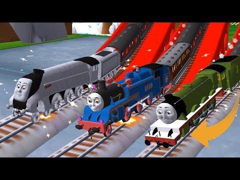 لعبة القطار توماس الحقيقى للاطفال - العاب القطارات بنات واولاد