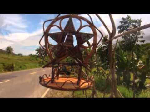Native Christmas lanterns sa Sogod, Cebu