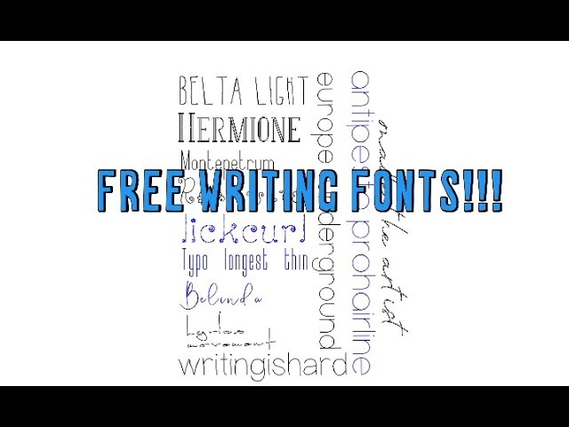 Free Writing Fonts Using Your Cricut And Design Space Tips Tricks And Hacks Youtube Traditional chinese fontbookmark the permalink. free writing fonts using your cricut