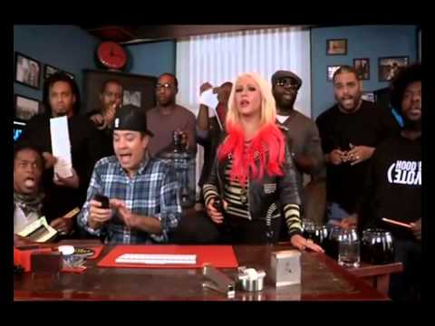 Christina Aguilera- Your Body live..