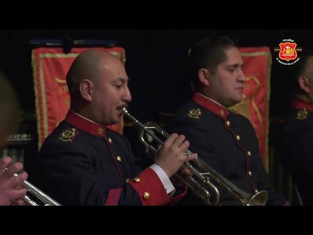 Banda de conciertos del Ejército de Chile, realizó transmisión especial por el día de sus glorias.