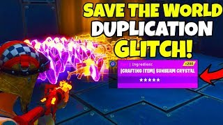 SEASON X SOLO DUPLICATION GLITCH! (WORKING) Fortnite Save The World