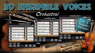 Tyros 5 - 30 Orchestral Ensemble Voices - Soundwonderland