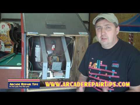Arcade Repair Tips - Adjusting An Arcade Monitor