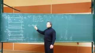 Сопротивление материалов. G-05 (угловое перемещение сечения консольной плоской балки).