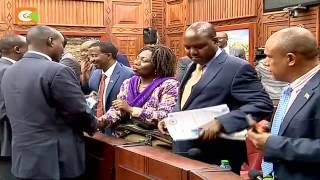 [VIDEO] CS Rotich: I have not received proposed exit package from IEBC