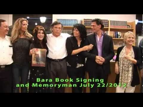 Bara book signing Memoryman July 2012.Malibu part 2