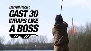 *Carp Fishing* Long distance casting with Darrell Peck