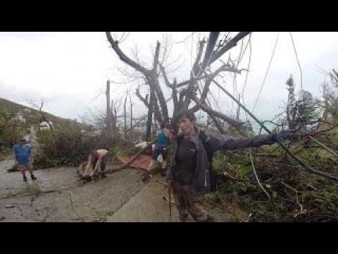 Journalist describes being on US Virgin Islands during Irma