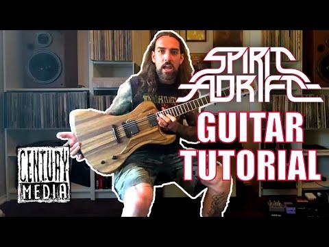 SPIRIT ADRIFT - Harmony Of The Spheres (Guitar Tutorial)