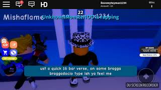 Roblox rap battles feat. DOG GUY