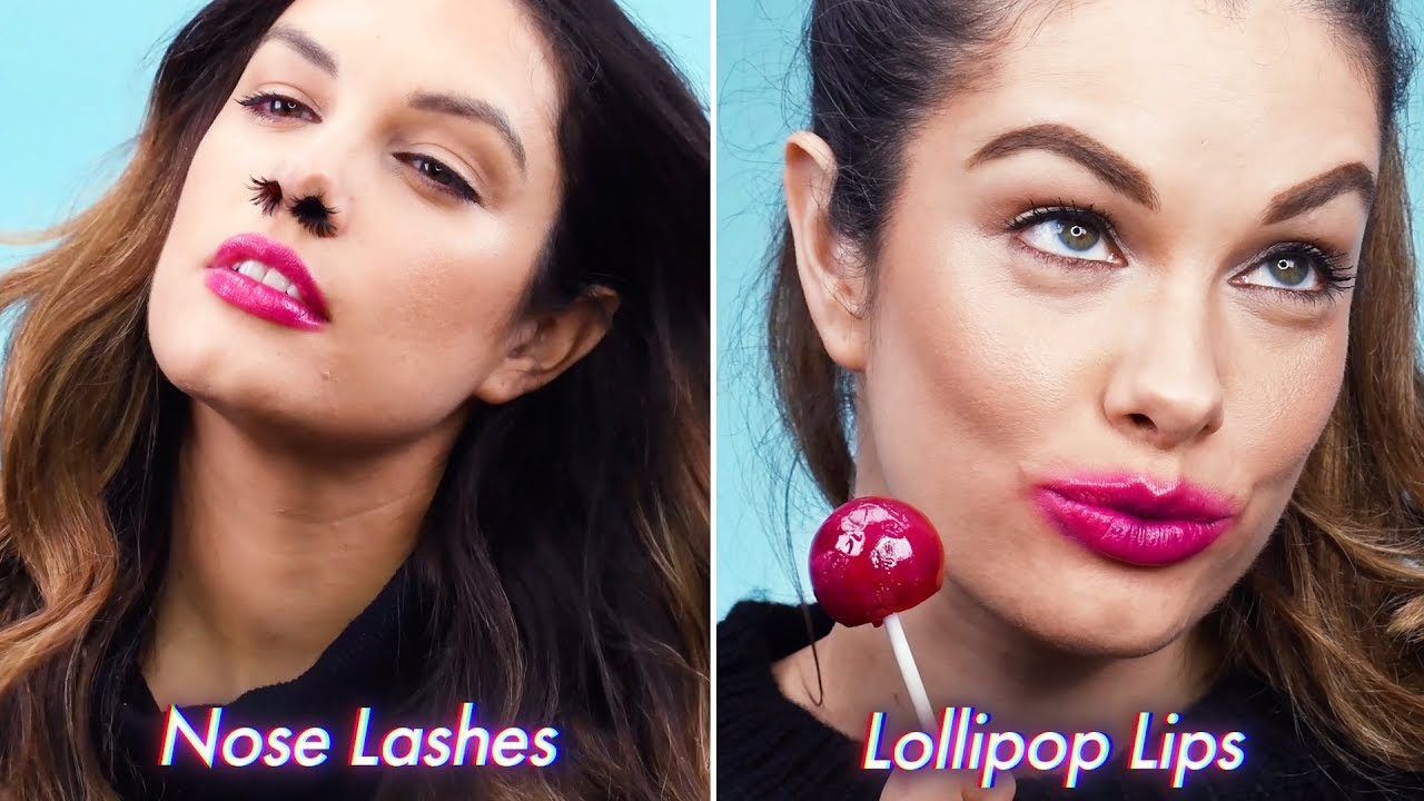 Weird Makeup Ideas | Funny & Crazy Makeup Pranks and Trends by Blusher