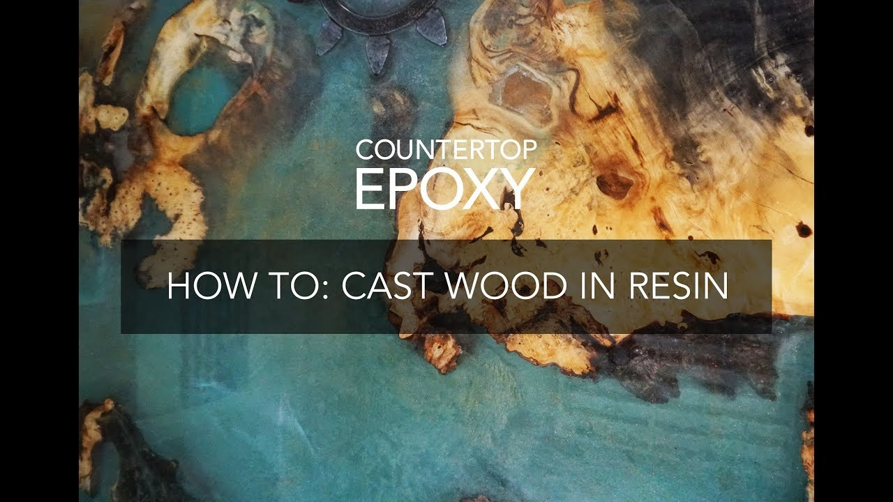 How To Cast A Burl Wood Table With Epoxy