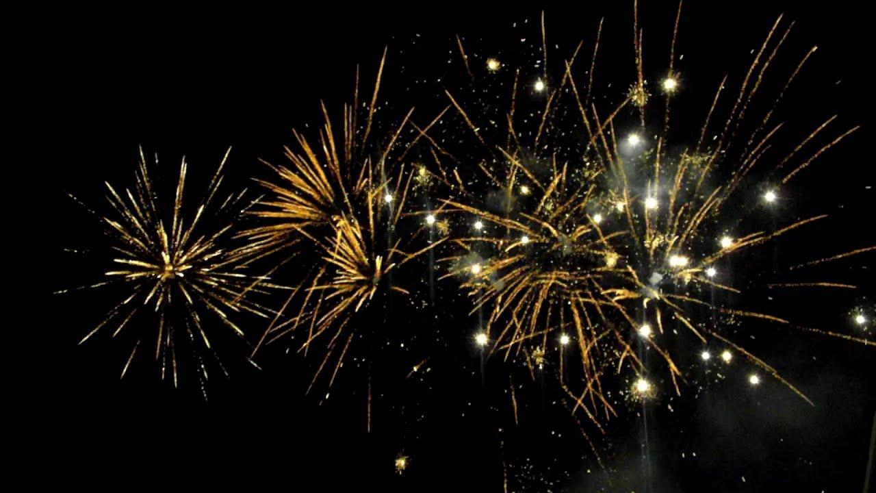 Ohňostroj/Fireworks Silvestr 2015/16 Břeclav - Na Valtické (market) [Full HD]
