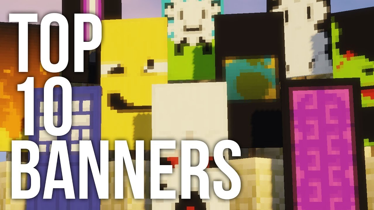 how to add designs onto minecraft banners