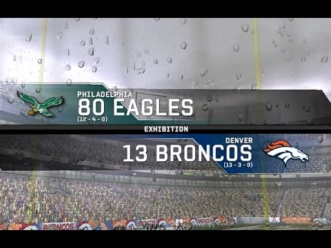 1980 Philadelphia Eagles vs. 2013 Denver Broncos