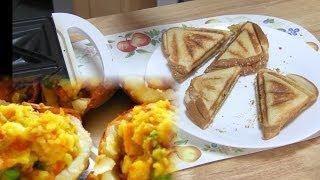 Samosa Stuffing Sandwich Recipe Video Or Bread Samosa Pie Recipe By Bhavna