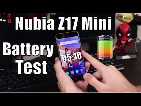 Nubia Z17 Mini Battery Test: How Long It Last and Full Charges?