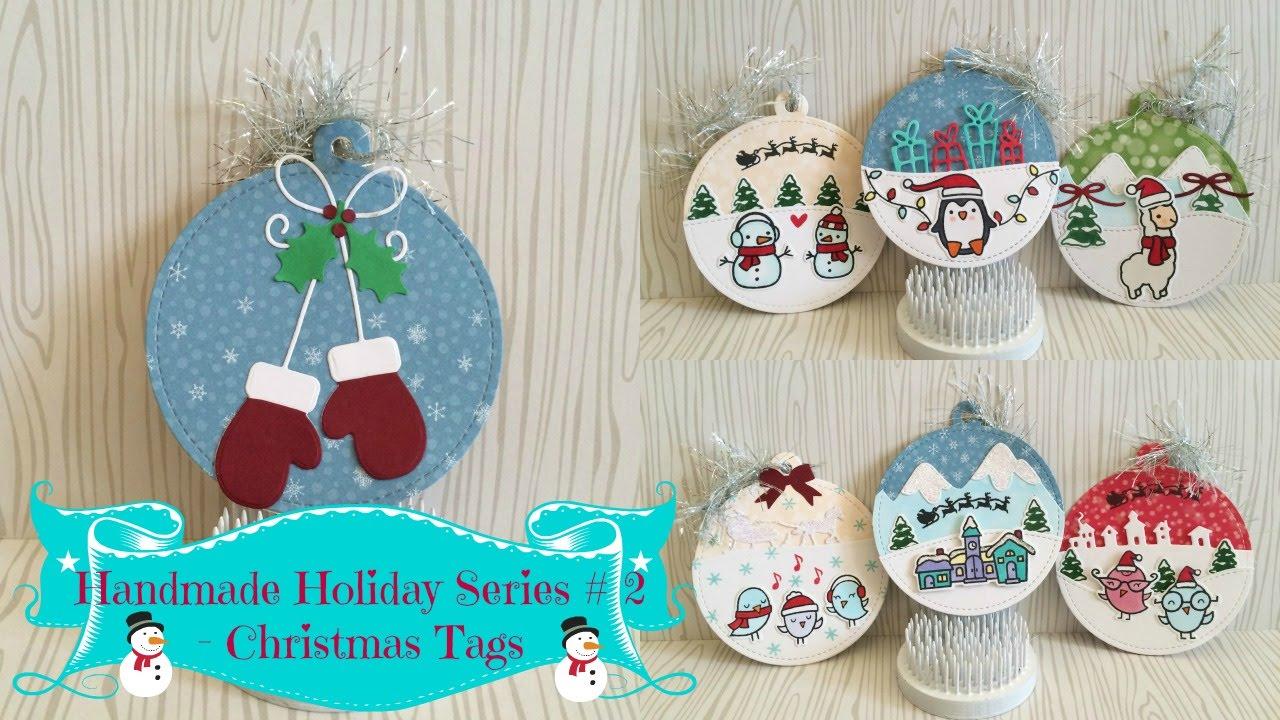 handmade holiday series 2christmas tags - Christmas Tags Handmade