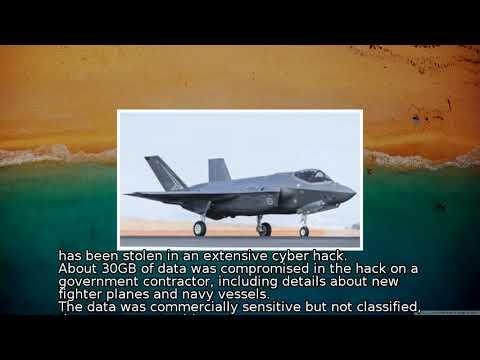 Australia jet and navy data stolen in 'extensive' hack