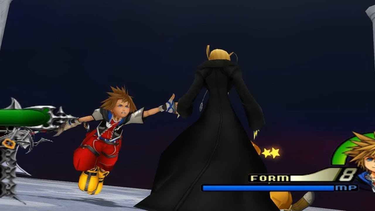 Kingdom Hearts 2 Final Mix Organization XIII Larxene Data