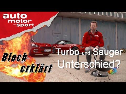 Turbo- und Saugmotor: Unterschied? - Bloch erklärt #8   auto motor und sport