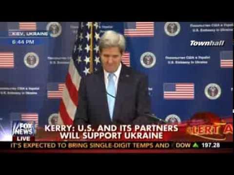 John Kerry Shocked to Learn Putin Denies Russian Troops in Crimea