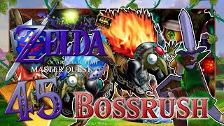 BONUS - BOSSRUSH - Master Quest 🗡️ THE LEGEND OF ZELDA OCARINA OF TIME 3D MASTER QUEST #45